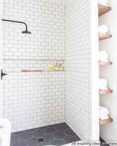 Minimalist modern farmhouse small bathroom decor ideas 20