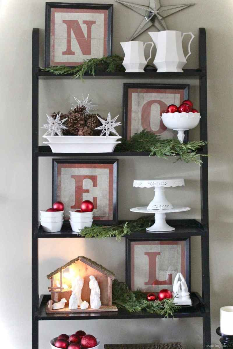Simple christmas decorations ideas for the home 28