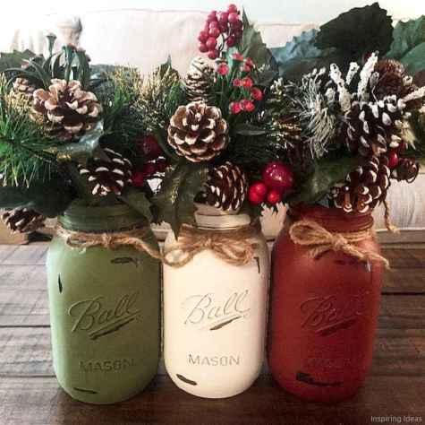 Simple christmas decorations ideas for the home 65