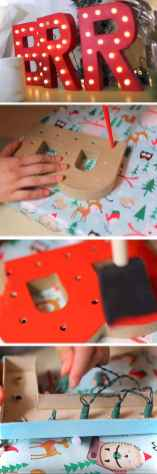 Simple christmas decorations ideas for the home 66