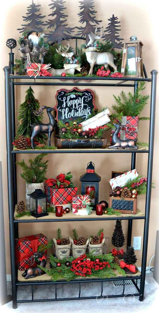0001 rustic christmas decorations ideas