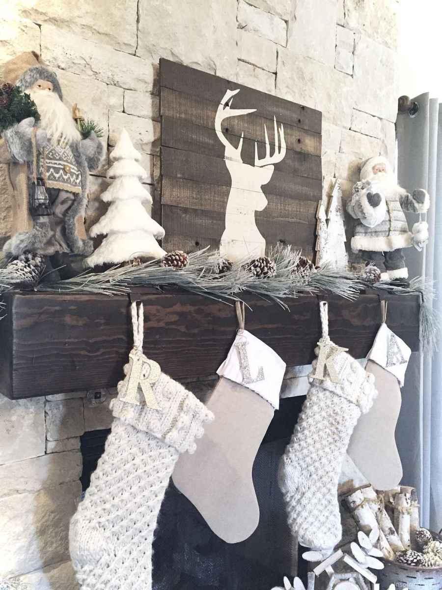 0011 rustic christmas decorations ideas