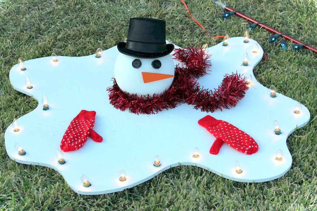 0016 peaceful christmas outdoor decorations ideas