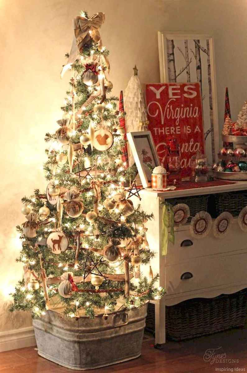 0033 rustic christmas decorations ideas