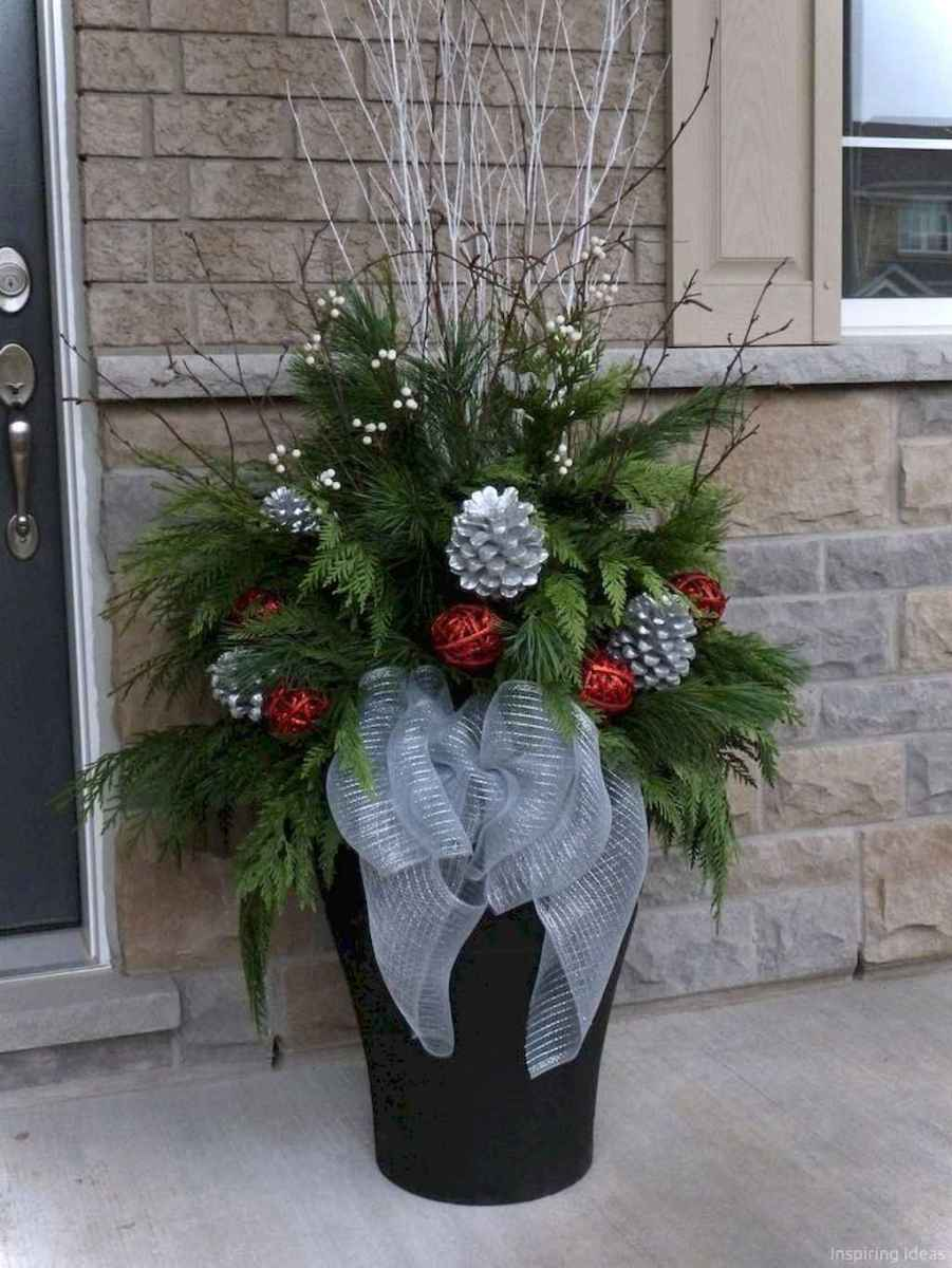 0036 peaceful christmas outdoor decorations ideas