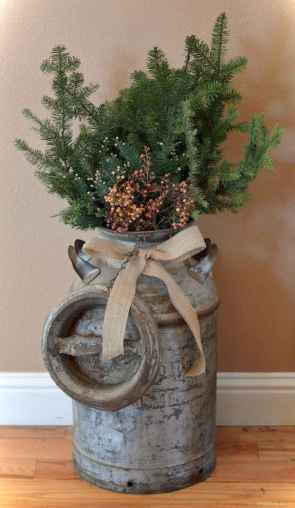 0038 rustic christmas decorations ideas