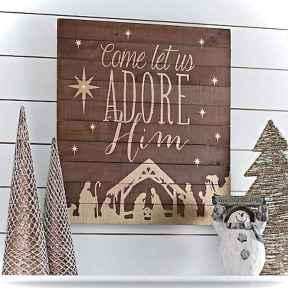 Adorable christmas signs design ideas handmade 0006