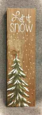Adorable christmas signs design ideas handmade 0033
