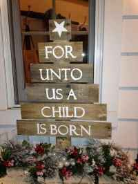 Nice diy christmas signs ideas on a budget 0020