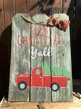 Nice diy christmas signs ideas on a budget 0028
