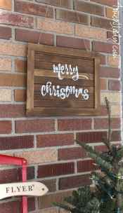 Nice diy christmas signs ideas on a budget 0030