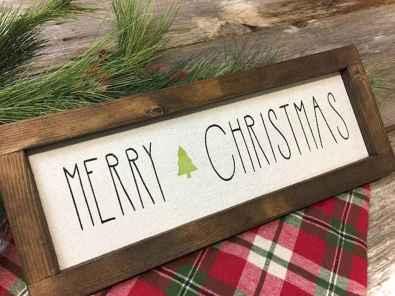 Nice diy christmas signs ideas on a budget 0031