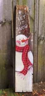 Nice diy christmas signs ideas on a budget 0039