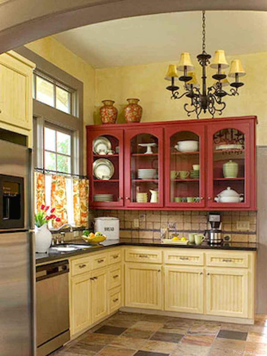 002 inspiring cottage kitchen cabinets ideas country style