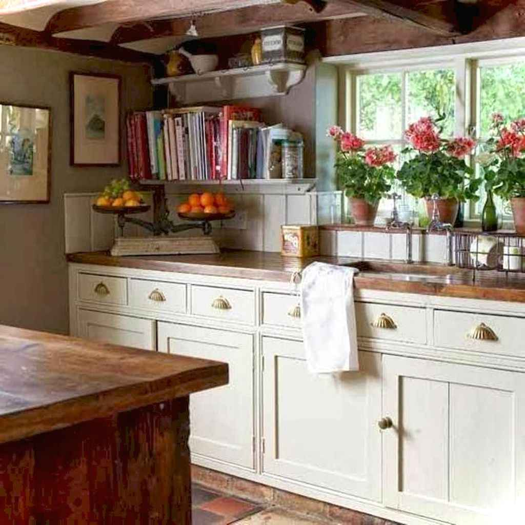 011 inspiring cottage kitchen cabinets ideas country style