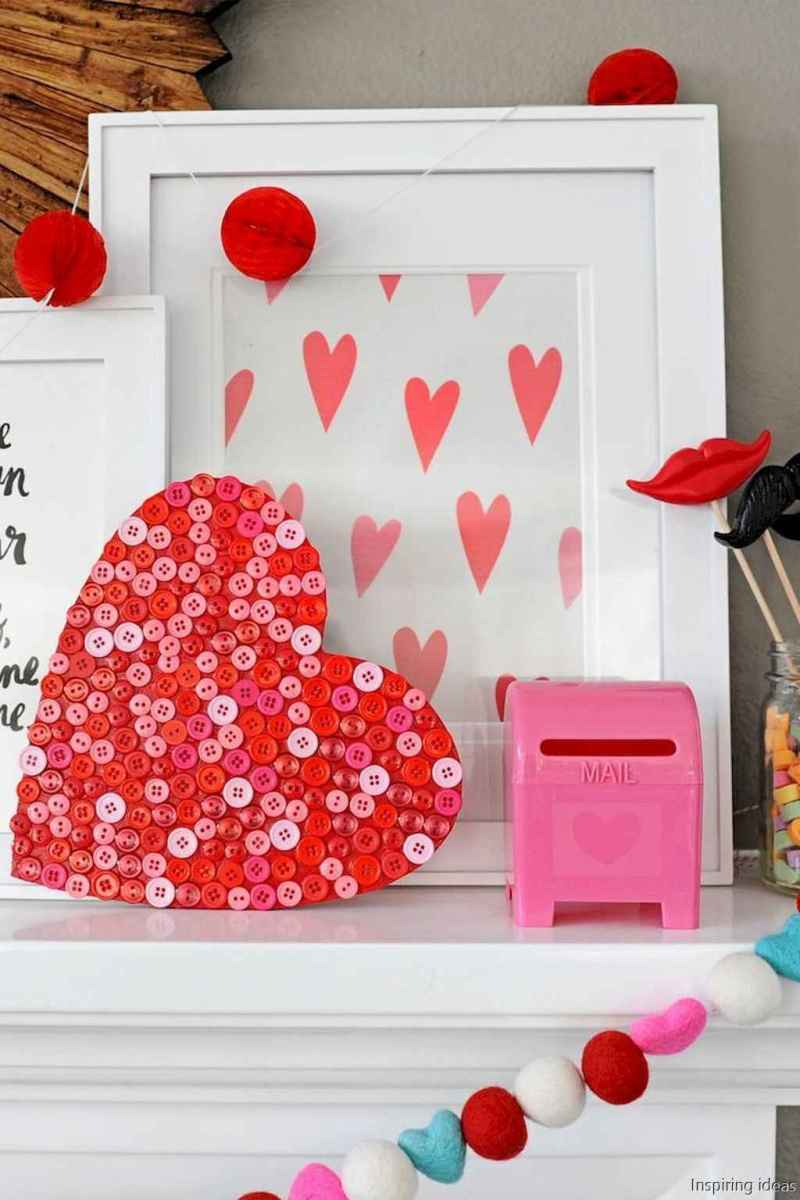 14 Awesome Diy Valentine Decorations Heart Patterns Ideas Room A