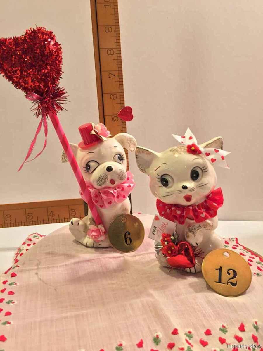 24 beautiful vintage valentine decorations ideas