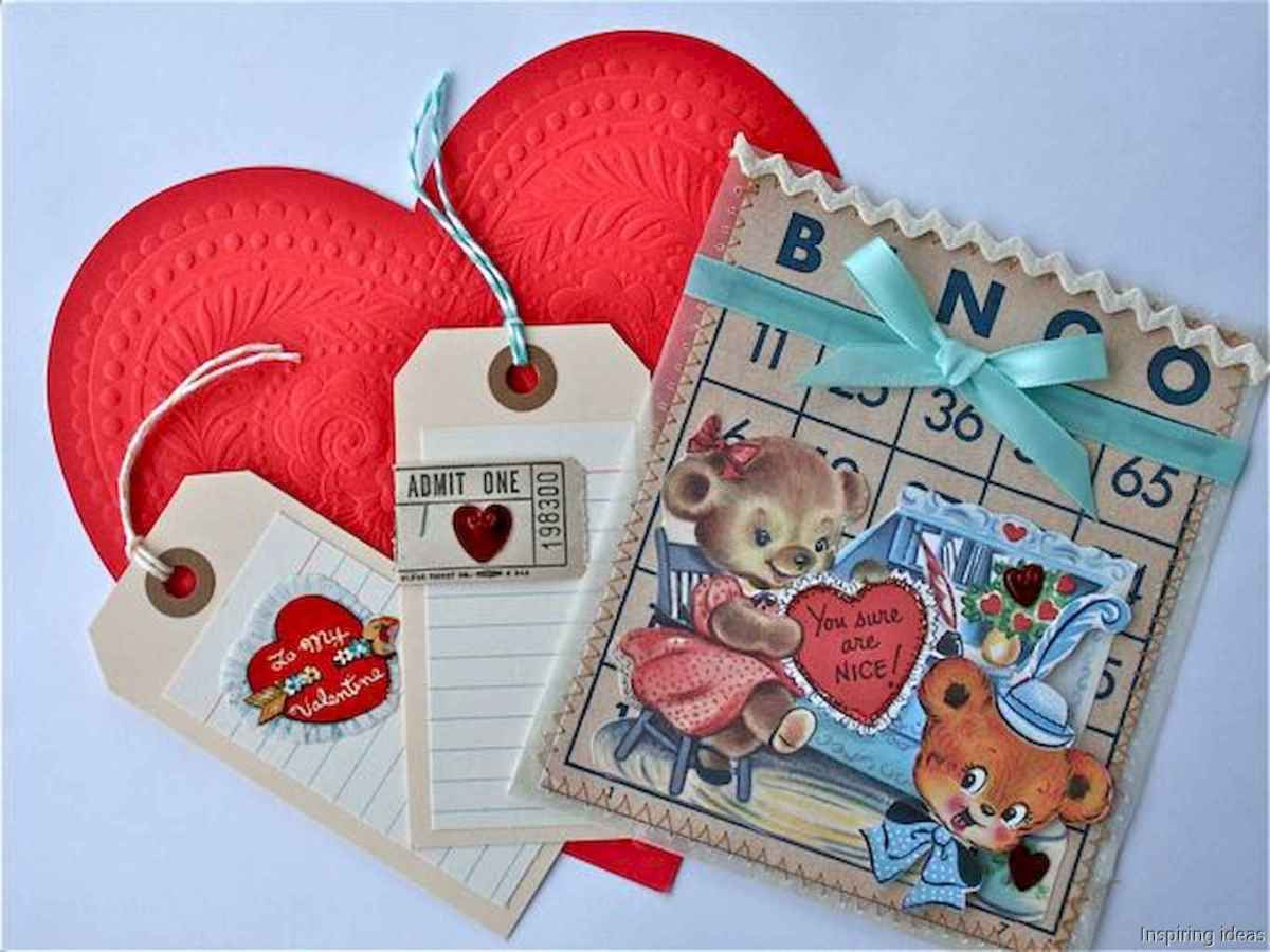 40 beautiful vintage valentine decorations ideas