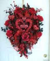 53 sweetest valentine wreaths ideas for your front door