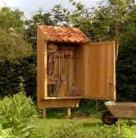 Clever garden shed storage ideas12