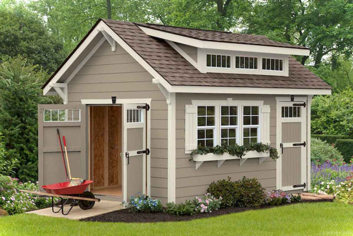 Clever garden shed storage ideas15
