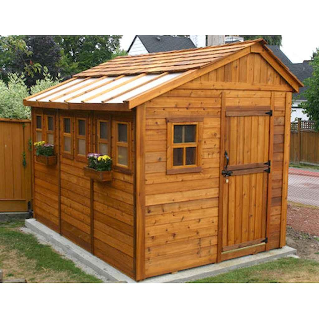 Clever garden shed storage ideas22