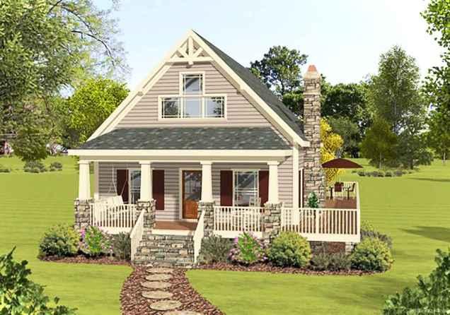 Gorgeous cottage house exterior design ideas067