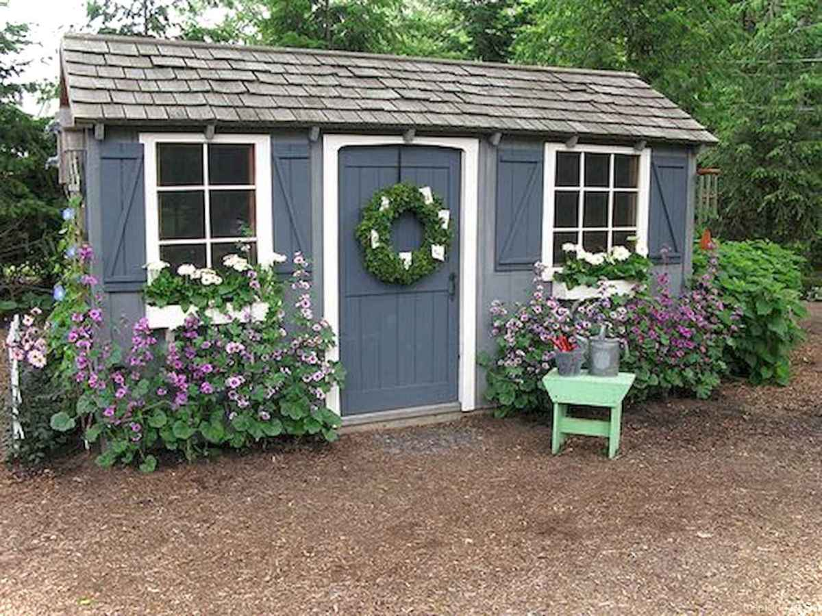 Incredible garden shed plans ideas 25
