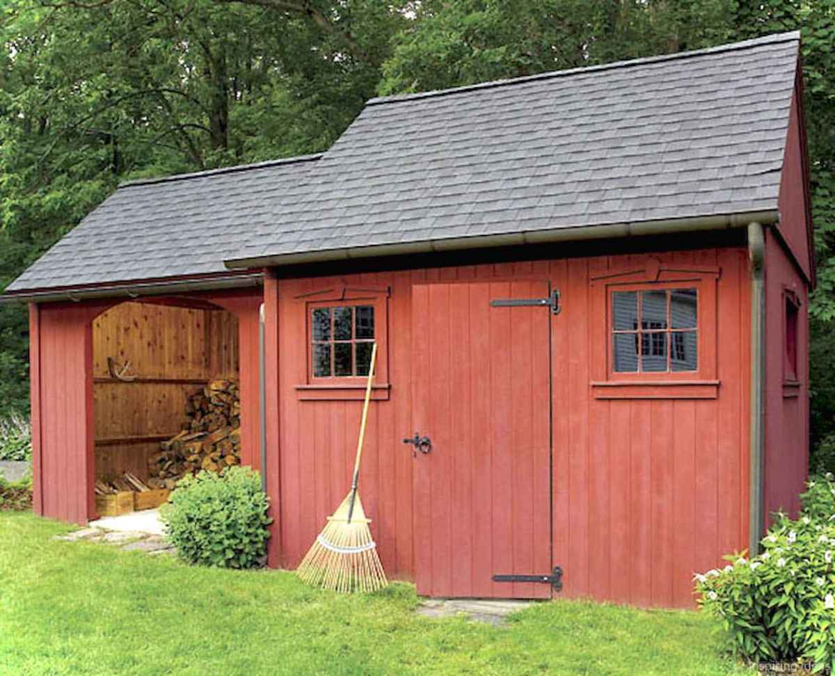 Incredible garden shed plans ideas 26