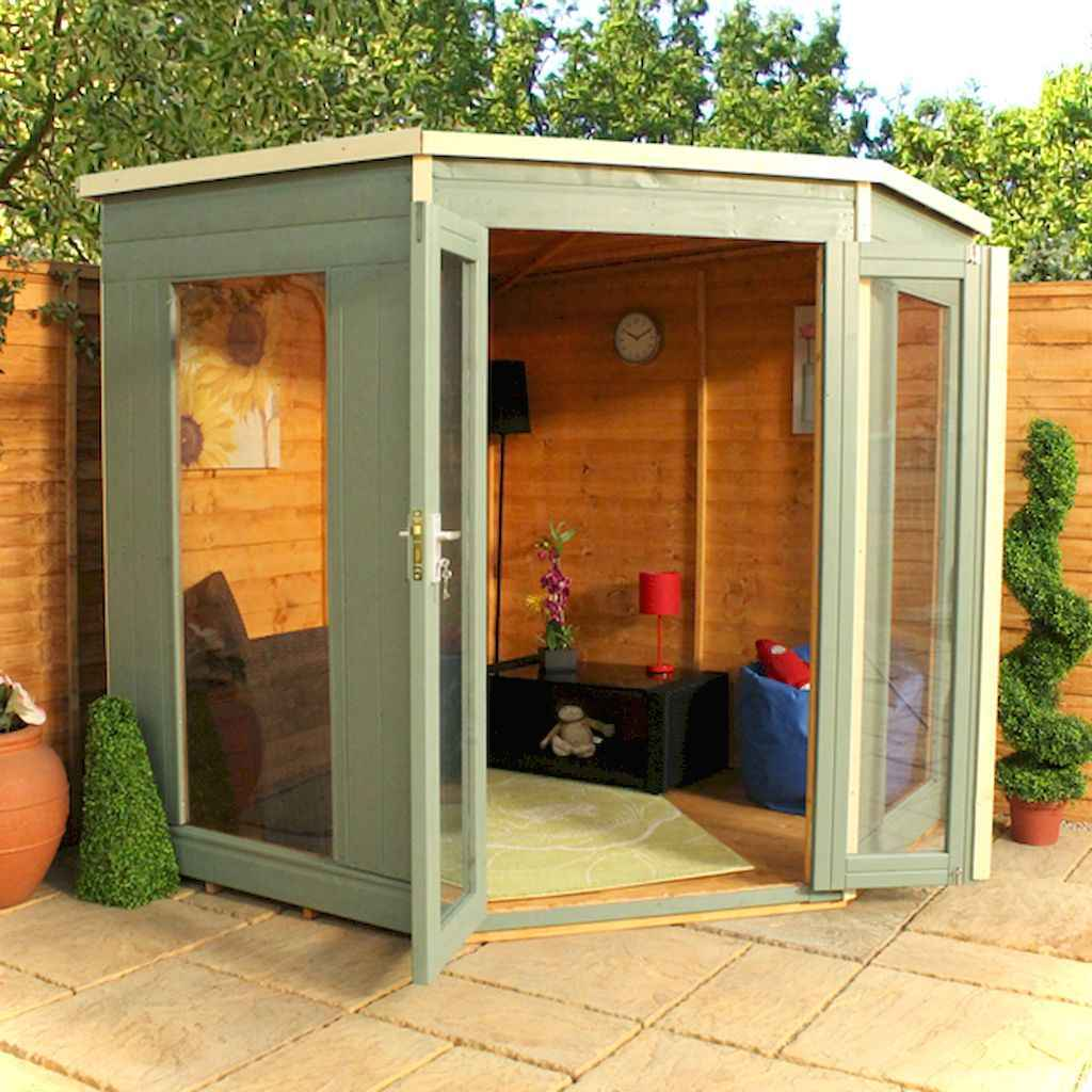 Inspiring garden shed ideas you can afford 1