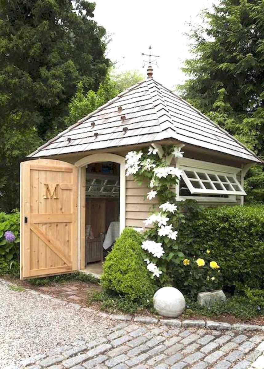 Inspiring garden shed ideas you can afford 43