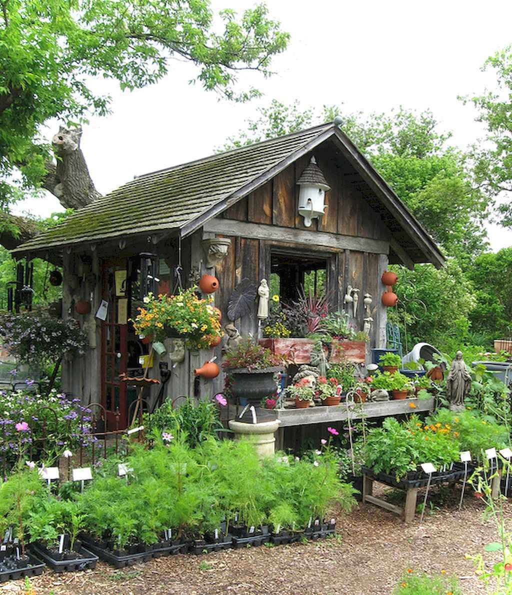 Inspiring garden shed ideas you can afford 53