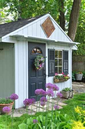 Smart garden shed organization ideas 25