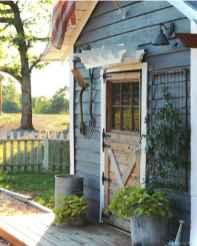 Smart garden shed organization ideas 38