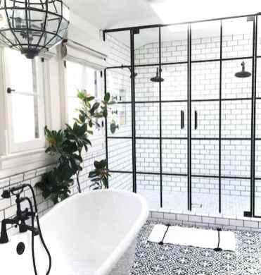 01 black and white bathroom design ideas
