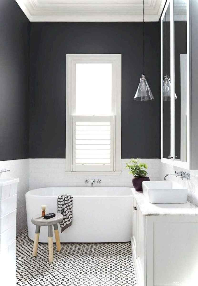 20 black and white bathroom design ideas