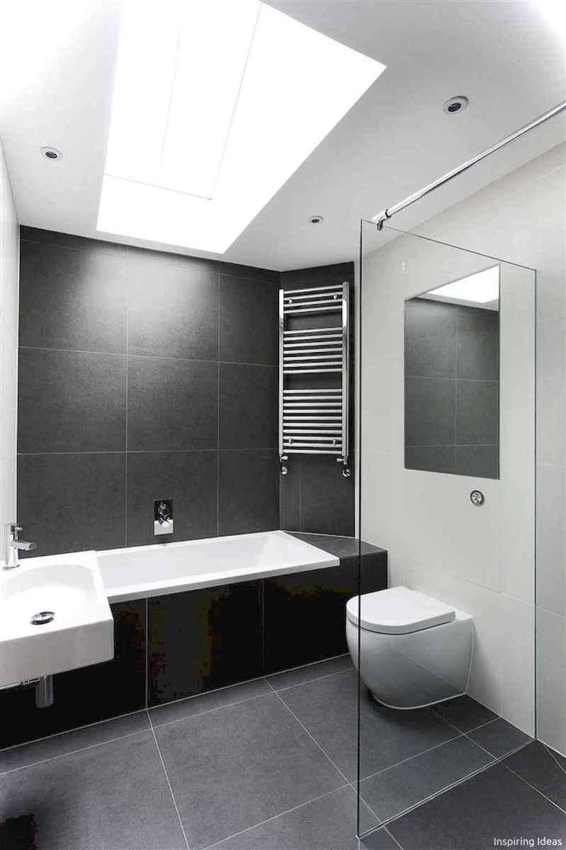 27 black and white bathroom design ideas