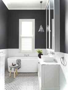 36 black and white bathroom design ideas