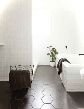 43 black and white bathroom design ideas