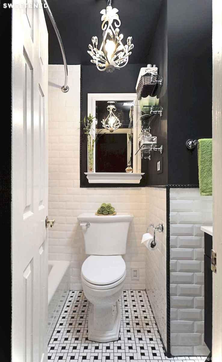 44 black and white bathroom design ideas