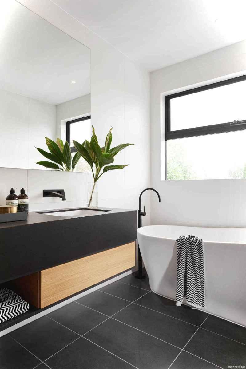 52 black and white bathroom design ideas