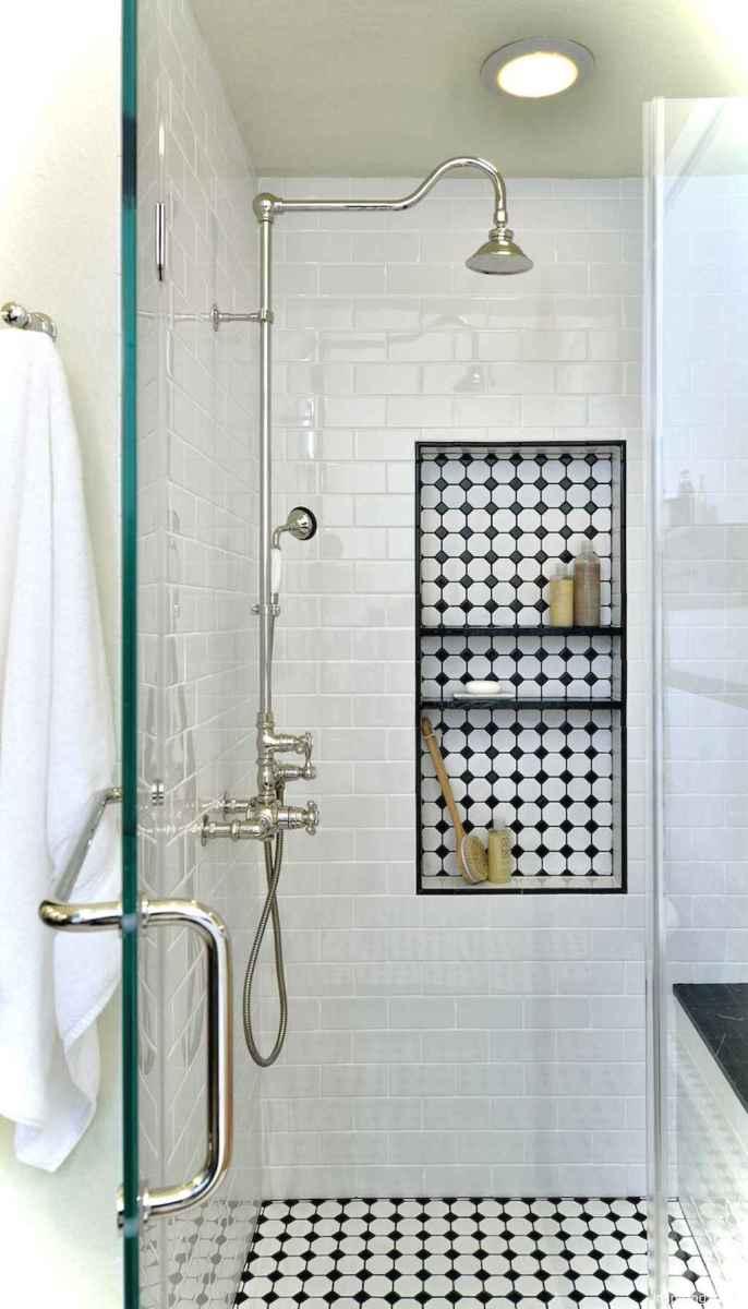 61 black and white bathroom design ideas
