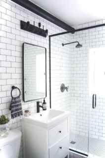 62 black and white bathroom design ideas