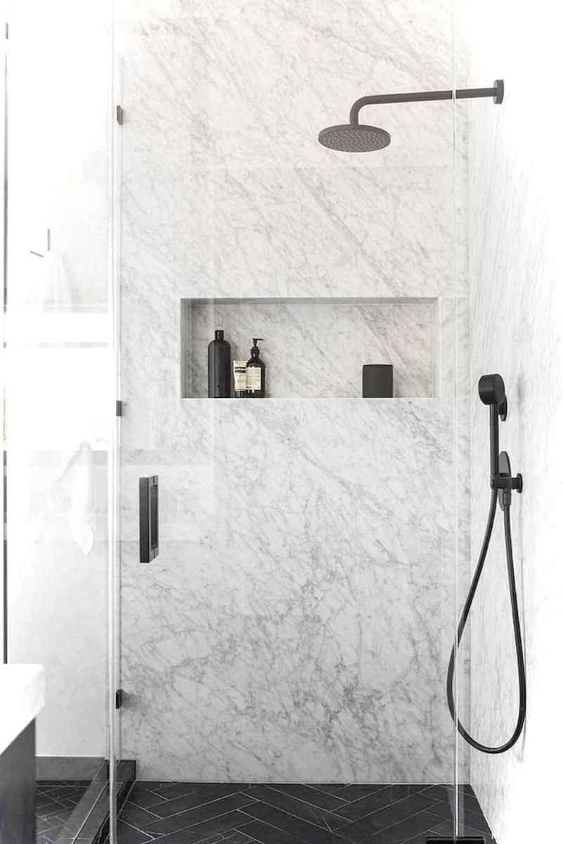 65 black and white bathroom design ideas
