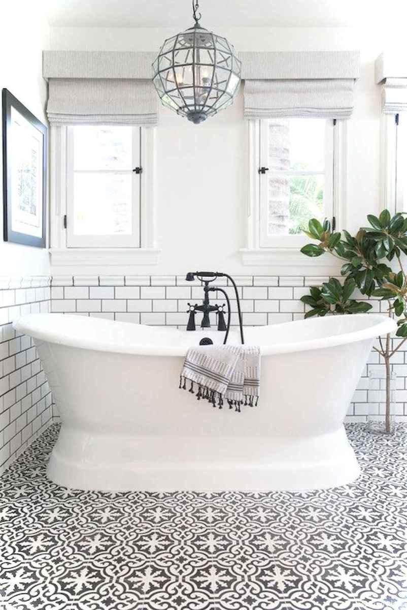 86 black and white bathroom design ideas
