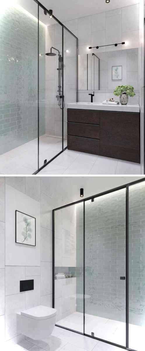 88 black and white bathroom design ideas