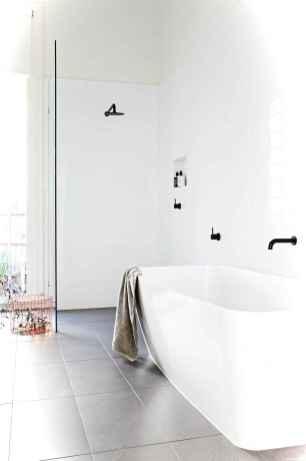 95 black and white bathroom design ideas