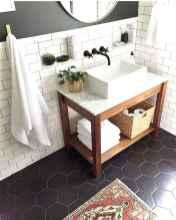 97 black and white bathroom design ideas