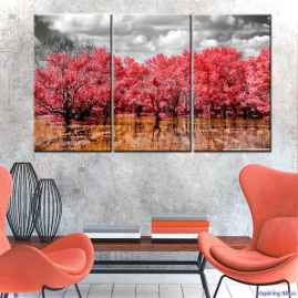 Artsy wall painting ideas for your home 18