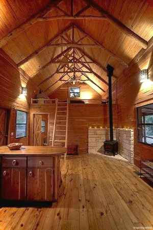 Awesome small cottage house plans 036 with loft